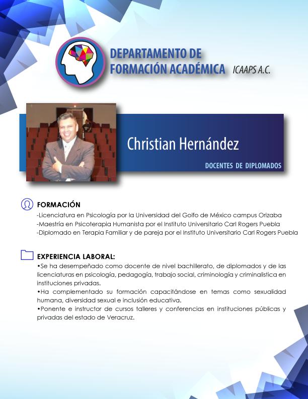 Mtro. Christian hernandez